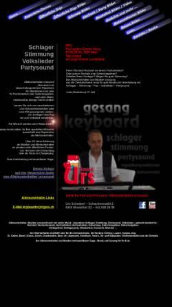 Vorschau der mobilen Webseite www.urssound.ch, Urssound