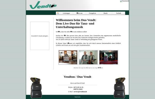 Vorschau von www.vendton.de, Vendton, Horst