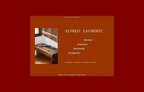 Vorschau von www.zachertz.de, Zachertz, Alfred