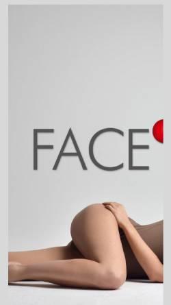 Vorschau der mobilen Webseite www.facemodel.de, face model agency