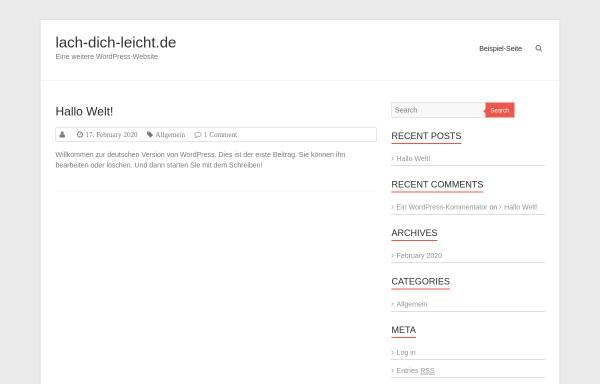 Vorschau von www.lach-dich-leicht.de, William Drucks