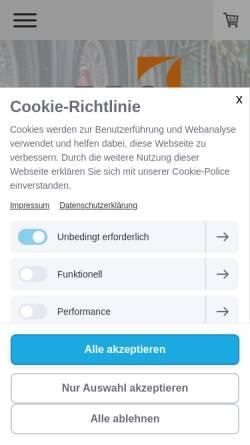 Vorschau der mobilen Webseite www.fbs.berlin, Fuhrpark Business Service GmbH