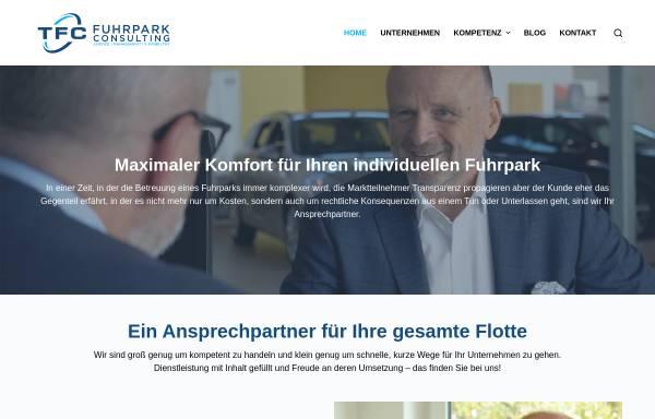 Vorschau von www.fuhrparkconsulting.de, T.F-uhrpark-Consulting GmbH