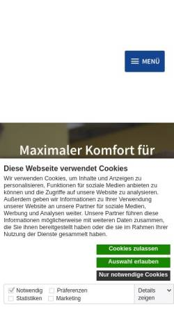 Vorschau der mobilen Webseite www.fuhrparkconsulting.de, T.F-uhrpark-Consulting GmbH