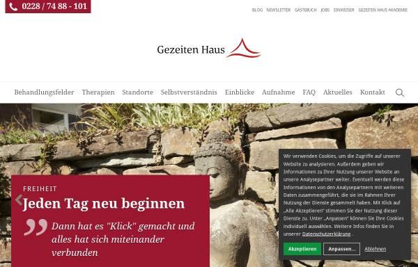 Vorschau von www.gezeitenhaus.de, Gezeiten Haus Klinikum AG