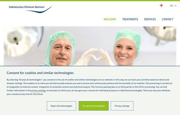 Vorschau von www.klinikum-bochum.de, Klinik Blankenstein