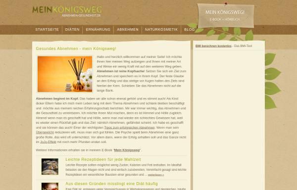 Vorschau von www.abnehmen-gesundheit.de, Abnehmen-Gesundheit.de