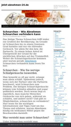 Vorschau der mobilen Webseite www.jetzt-abnehmen-24.de, Jetzt-Abnehmen-24.de