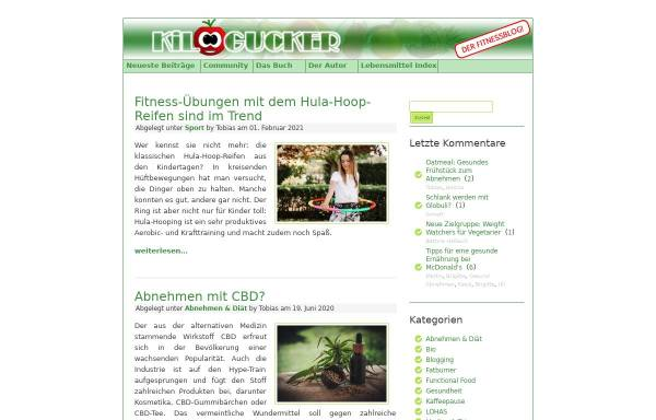 Vorschau von www.kilogucker.de, Kilogucker