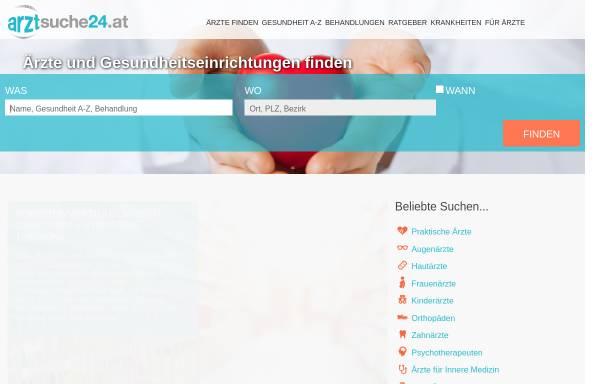 Vorschau von arztsuche24.at, Arzt-Suche24.at