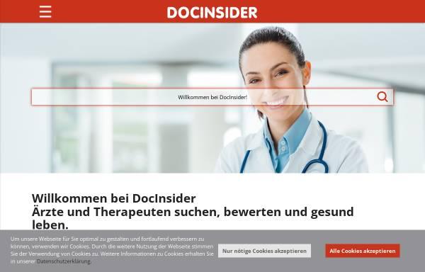 Vorschau von www.docinsider.de, DocInsider