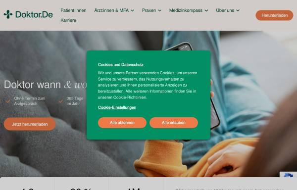 Vorschau von www.doktor.de, Doktor.de