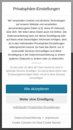 Vorschau der mobilen Webseite www.feelinggood24.de, Feelinggood24.de