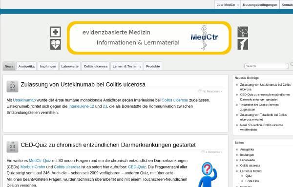 Vorschau von medctr.de, MedCtr