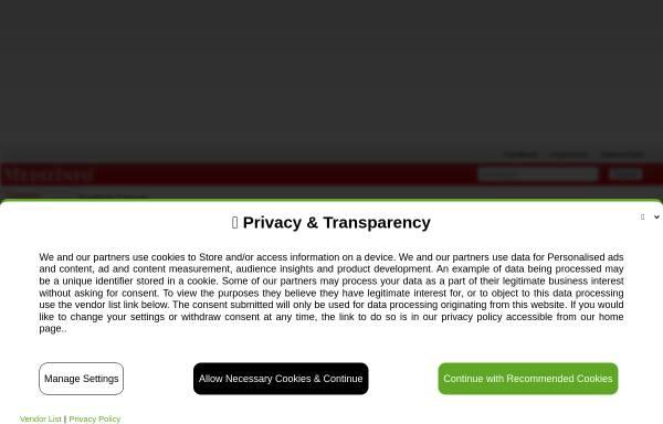 Vorschau von www.medizinfo.de, MedizInfo