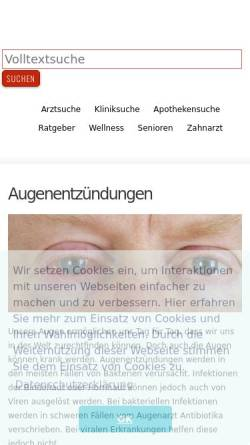 Vorschau der mobilen Webseite www.med-kolleg.de, Med-Kolleg
