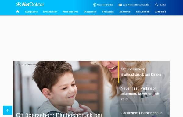 Vorschau von www.netdoktor.de, NetDoktor.de