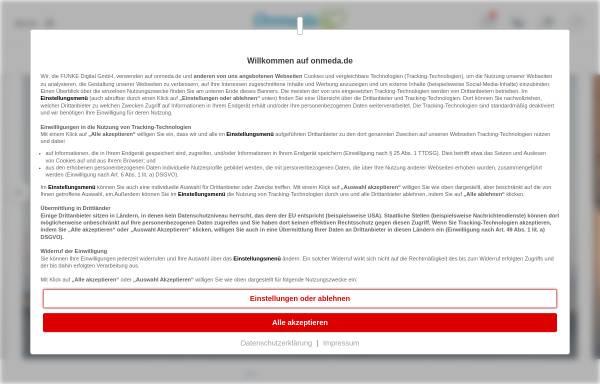 Vorschau von www.onmeda.de, Onmeda