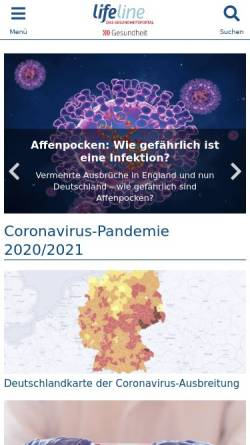 Vorschau der mobilen Webseite www.qualimedic.de, Qualimedic