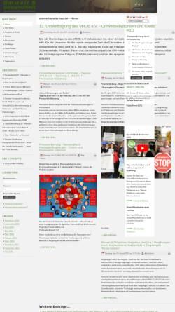 Vorschau der mobilen Webseite www.umweltrundschau.de, Umweltrundschau.de