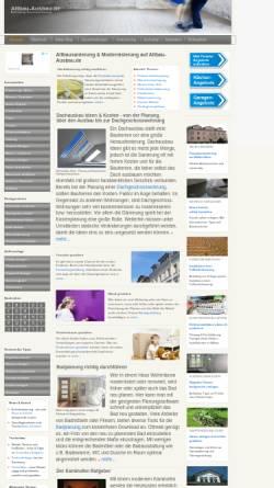 Vorschau der mobilen Webseite www.altbau-ausbau.de, Altbau-Ausbau