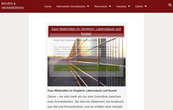 Vorschau von www.bauen-und-heimwerken.de, Bauen und Heimwerken