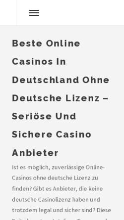 Vorschau der mobilen Webseite www.biermann-web.de, Biermann-Web