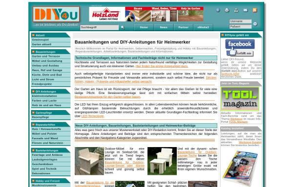 Vorschau von www.diy4you.de, DIY 4 you
