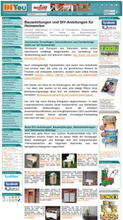 Vorschau der mobilen Webseite www.diy4you.de, DIY 4 you