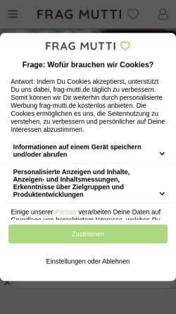 Vorschau der mobilen Webseite www.frag-vati.de, Frag-Vati.de