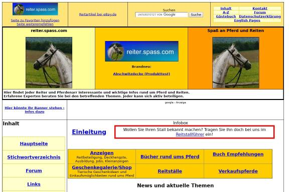Vorschau von reiter.spass.com, Reiter.spass.com