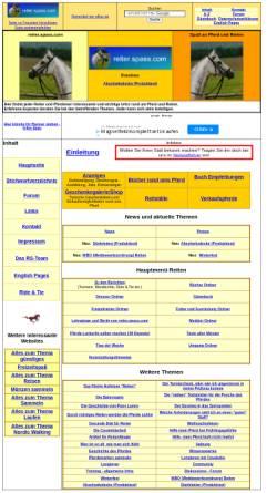 Vorschau der mobilen Webseite reiter.spass.com, Reiter.spass.com