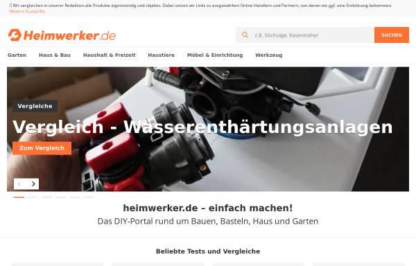 Vorschau von www.heimwerker.de, Heimwerker.de, Marketing Factory Digital GmbH