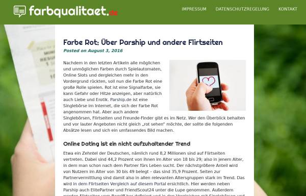 Vorschau von www.farbqualitaet.de, Paint Quality Institute