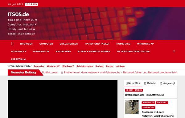 Vorschau von www.its05.de, ITS05.de