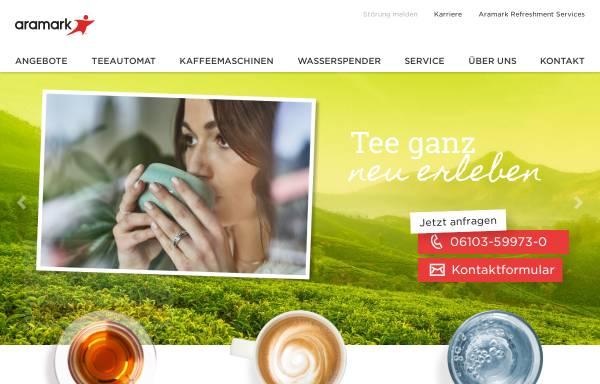 Vorschau von www.aramark.de, Aramark Holdings GmbH & Co. KG
