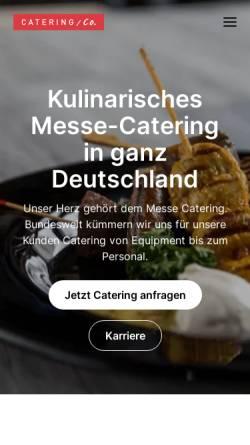 Vorschau der mobilen Webseite www.catering-co.de, Catering Company Deutschland GmbH