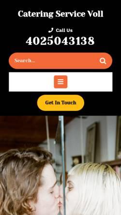 Vorschau der mobilen Webseite www.catering-service-voll.de, Catering Service Voll