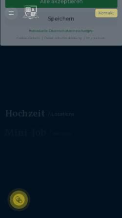 Vorschau der mobilen Webseite www.brunckhorst-catering.de, E. Brunckhorst GmbH