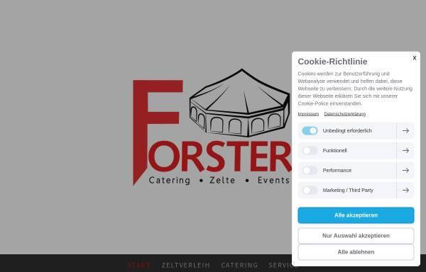 Vorschau von www.partyservice-forster.de, Forster GmbH