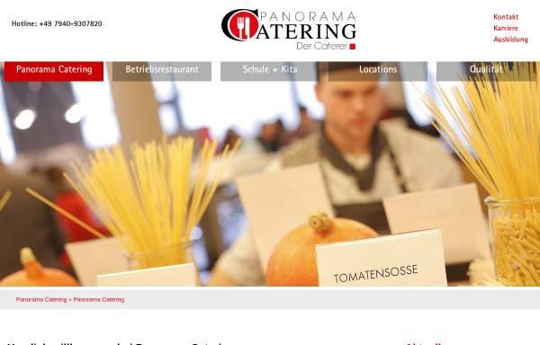Vorschau von www.panorama-catering.de, Panorama Catering - Panorama Hotel- und Service GmbH