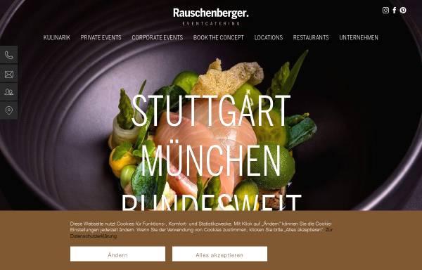 Vorschau von www.rauschenberger-partyservice.de, Rauschenberger Gastronomie Gruppe