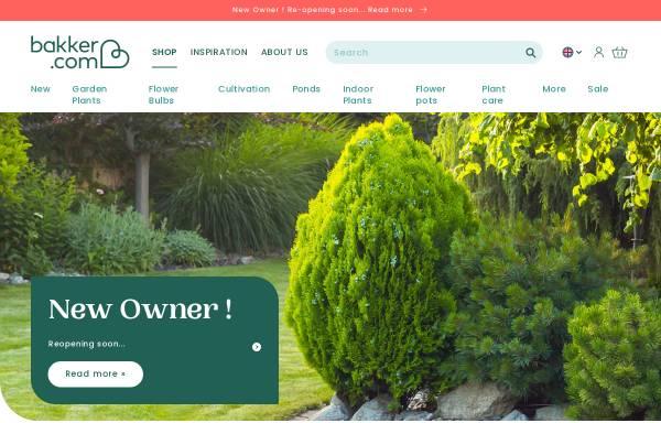 Vorschau von www.bakker.com, Bakker-Holland - Pflanzenversand Ammersbeck GmbH