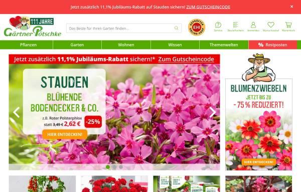 Vorschau von www.poetschke.de, Gärtner Pötschke GmbH