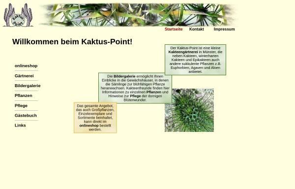 Vorschau von www.kaktus-point.de, Kaktus-Point.de - Herbert Buddendiek
