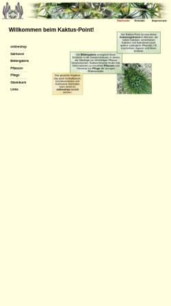 Vorschau der mobilen Webseite www.kaktus-point.de, Kaktus-Point.de - Herbert Buddendiek