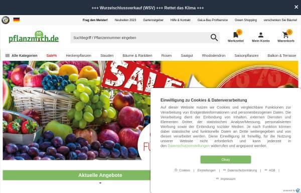 Vorschau von www.pflanzmich.de, Pflanzmich GmbH