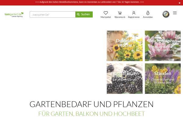 Vorschau von www.tom-garten.de, TOM-Garten - ESH-Rhenania GmbH