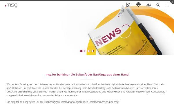 Vorschau von www.msg-gillardon.de, MsgGillardon AG