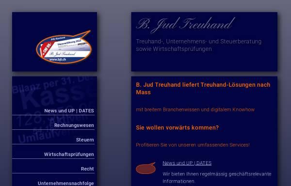Vorschau von www.bjt.ch, B. Jud. Treuhand